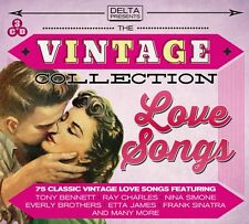3 CD BOX VINTAGE COLLECTION LOVE SONGS BENNETT PRESLEY SIMONE JAMES SINATRA ETC