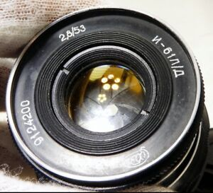 Industar 53mm f2.8 L39 Leica mount Lens adapted to M4/3 mirrorless cameras GH4 5