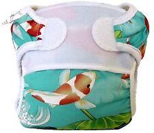 Koi Pond Reusable Swim Diaper - Swimmi by Bummis Size small fits 9-15 pounds