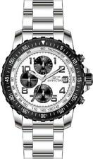 Invicta Specialty 5999 Men's Round White Chronograph Date Stainless Steel Watch