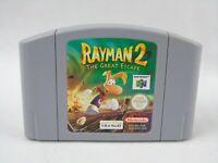Rayman 2 The Great Escape N64 Nintendo 64 Cartridge PAL