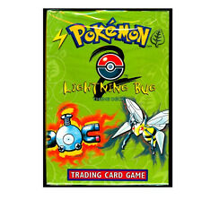 Pokemon Base 2 Set Lightning Bug Starter Theme Deck Box Set