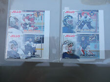 1995-96 Kraft Hockey Kraft JELL-O JELLO ED BELFOUR DAREN PUPPA PANEL