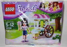 30106 EMMA'S ICE CREAM STAND friends lego NEW poly bag legos set
