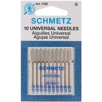 Schmetz Universal Assorted Size 70/10-90/14 Sewing Machine Needles (10 pack)