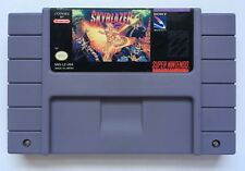 Super Nintendo SNES Skyblazer Video Game Cartridge *Authentic* *Rare* #1