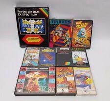 Sinclair ZX Spectrum Game Bundle Lot 48k/128k Kat Trap Styx Triaxos & More #1