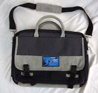 Microsoft Professional Developer Conference Laptop Bag Carrying Case Suede RARE