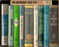 Lot of 10 Modern Library Series Titles  - HB in DJ  - Literature/Drama/Faulkner