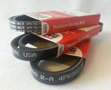 For 98-02 Frontier 4 Cyl Bando OEM Belts Set Alt-AC-Pwr-3355B-3490B-2355B