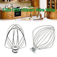 Wire Whip Beater Mixer Attachment Whisk For KitchenAid K45WW KSM90 KSM150