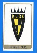 FOOTBALL 1972-73 BELGIO -Panini Figurina-Sticker n. 157 - LIERSE SCUDETTO -Rec