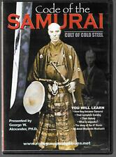 Rising Sun Video Code of the Samurai, Cult of Cold Steel, Documentary, USED DVD