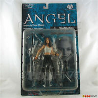 Angel Faith in white tank top by Moore Action Collectibles action figure - worn