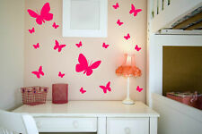 18 Giant Butterflies Wall Sticker Decal Largest Available Genuine Broomsticker