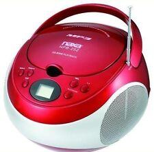 Naxa NPB252RD CD Player - Red