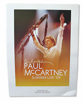 Paul Mccartney Summer Live 2009 Boston Ma Tour Wall Poster New Official Litho