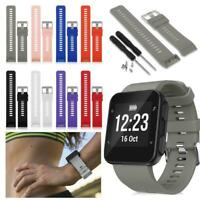 For Garmin Forerunner 35 Watch Silicone Replacement Wrist Band Strap With Tools