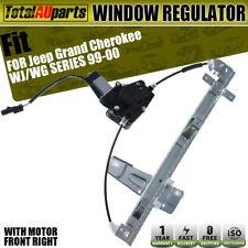 Window Regulator W/ Motor for Jeep Grand Cherokee WG WJ 1999-2000 Front Right