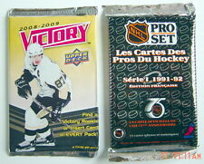 LOT OF TWO 1992-2009'S HOCKEY CARD UNOPENED PACKS