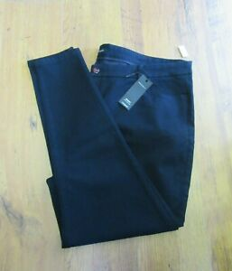 M&S AUTOGRAPH NAVY JEANS TROUSERS SIZE 28 LONG BRAND NEW WITH TAGS RRP £45
