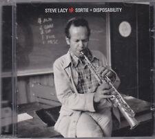 STEVE LACY - sortie + disposability CD