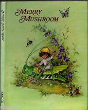 Vintage 1972 MERRY MUSHROOM Wendy Wilkin RARE ILLUSTRATED CHILDEN'S LORE BOOK HC