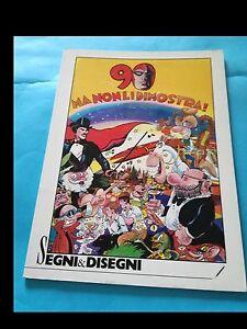 SEGNI & DISEGNI (ed. Nerbini 1987) con JACOVITTI/CANALE/STAINO