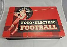 Cadaco Ellis Foto Electric Football Complete Rare 1950s Vintage Collectible Game