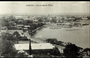 POSTCARD PERTH FROM MOUNT ELIZA