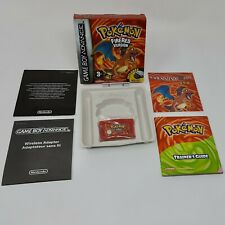 Pokemon - Fire Red Version - Nintendo Gameboy Advanced Boxed Great Condition GBA
