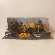 Disney store Star Wars return of the jedi figurine play set new