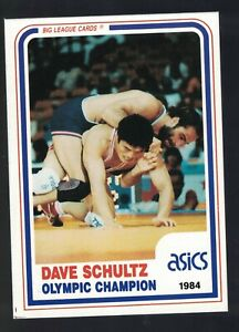 1990 Banach Legends of Wrestling Card DAVE SCHULTZ Foxcatcher Olympic Champion