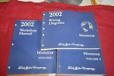 2002 Ford Windstar Dealer Shop Repair Manual WSVA