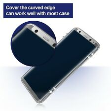 Privacy Tempered Glass Screen Protector Case Friendly for Samsung Galaxy S8 Plus