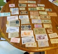 40 World Bank Notes variety foreign country