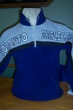 Toronto Maple Leaf Fleece Pull Over Youth Large