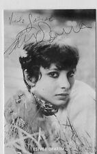 Esther Ofarim - original signierte schöne Kolibri Autogrammkarte Nr.3103