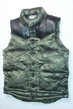 True Religion Denim Camo Nylon Vest Small S  SLim Fit