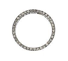 14k White Gold Eternity ( Circle ) Pendant with 0.65cts Diamond
