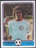 MONTY GUM-WORLD CUP FOOTBALL 1978- TUNESIA - TUNISIA - KAABI