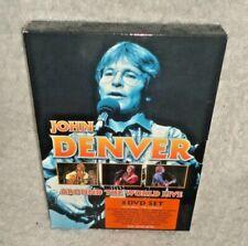 John Denver - Around The World Live Box Set (DVD, 2009, 5-Discs)