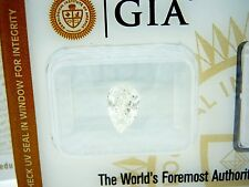 GIA .85 CT (SI2/G) CERTIFIED PEAR CUT DIAMOND for Engagement Ring or Pendant