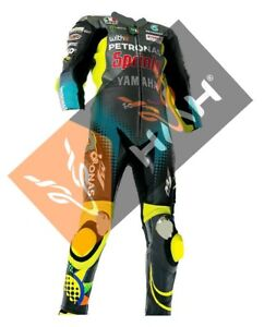 Valentino Rossi 2021 Model Motorbike Racing Leather Suit Available In All Sizes