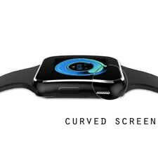 Waterproof Bluetooth Smart Watch Phone Mate For iphone IOS Android Black
