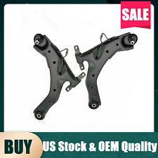Control Arm &Ball Joint Balljoint Front Lower Pair Set for 01-06 Hyundai Elantra