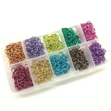 0.31 in. 28 Color 4200x Open Jump Rings for Jewelry Making Supplies DIY Crafts