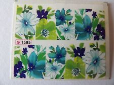 NAIL WATER TRANSFER STICKER DECALS - FLOWER PATTERN #1595