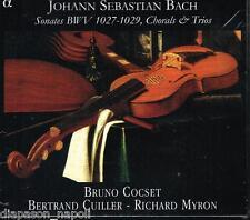 Bach: Sonate Bwv 1027-1029, Corali e Trii / Bruno Ocset, Les Basses Reunies CD