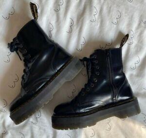 Dr Marten Jadon Platform Boots Size 6